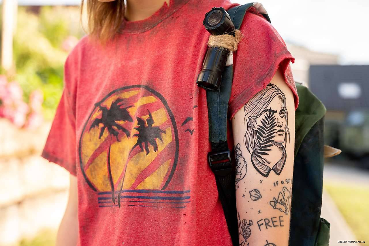 Ellie tattoo