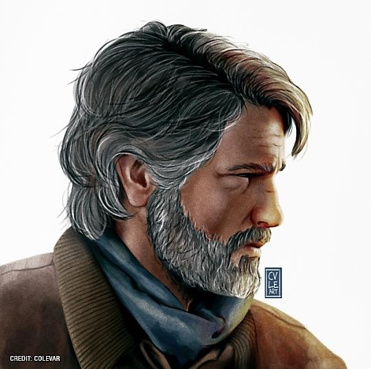 Joel - The Last of Us Part II by Cole Varley