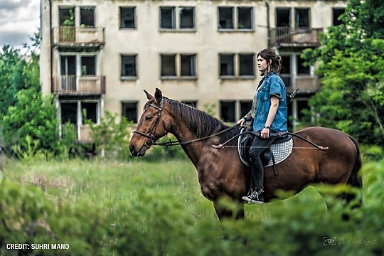 Ellie cosplay by suhri.mano and Mister Knister