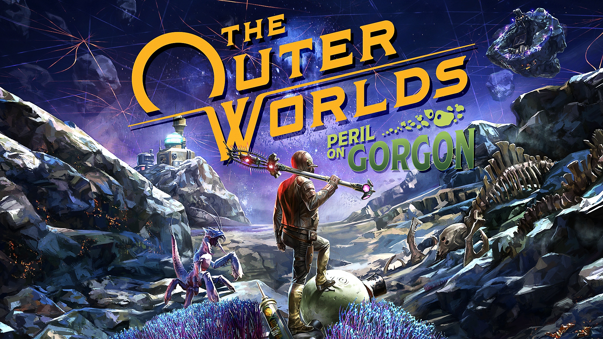 The Outer Worlds: Peril on Gorgon - Key Art