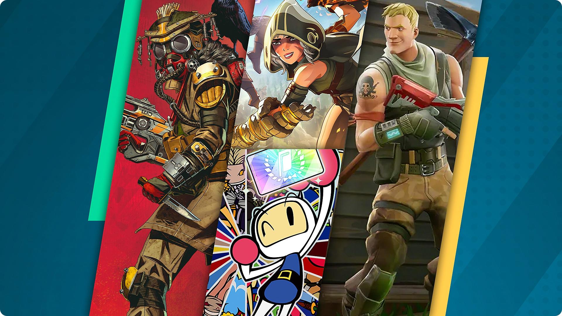Parhaat battle royale -pelit PS4- ja PS5-konsoleille – promotaide