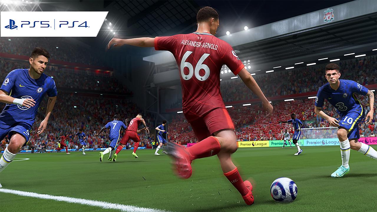 EA Sports FIFA 22 -kuvakaappaus