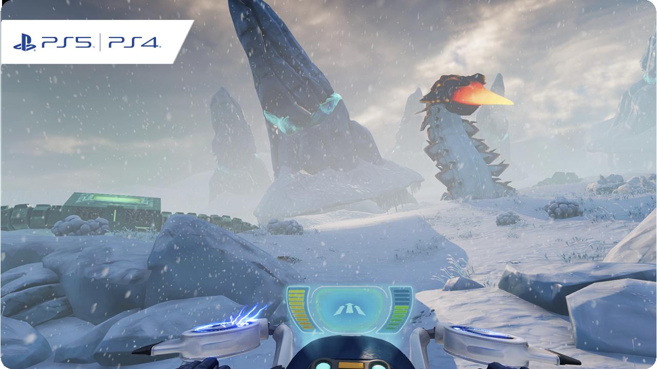 الصورة الفنية الأساسية للعبة Subnautica: Below Zero