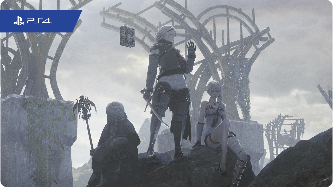 Nier Replicant key art