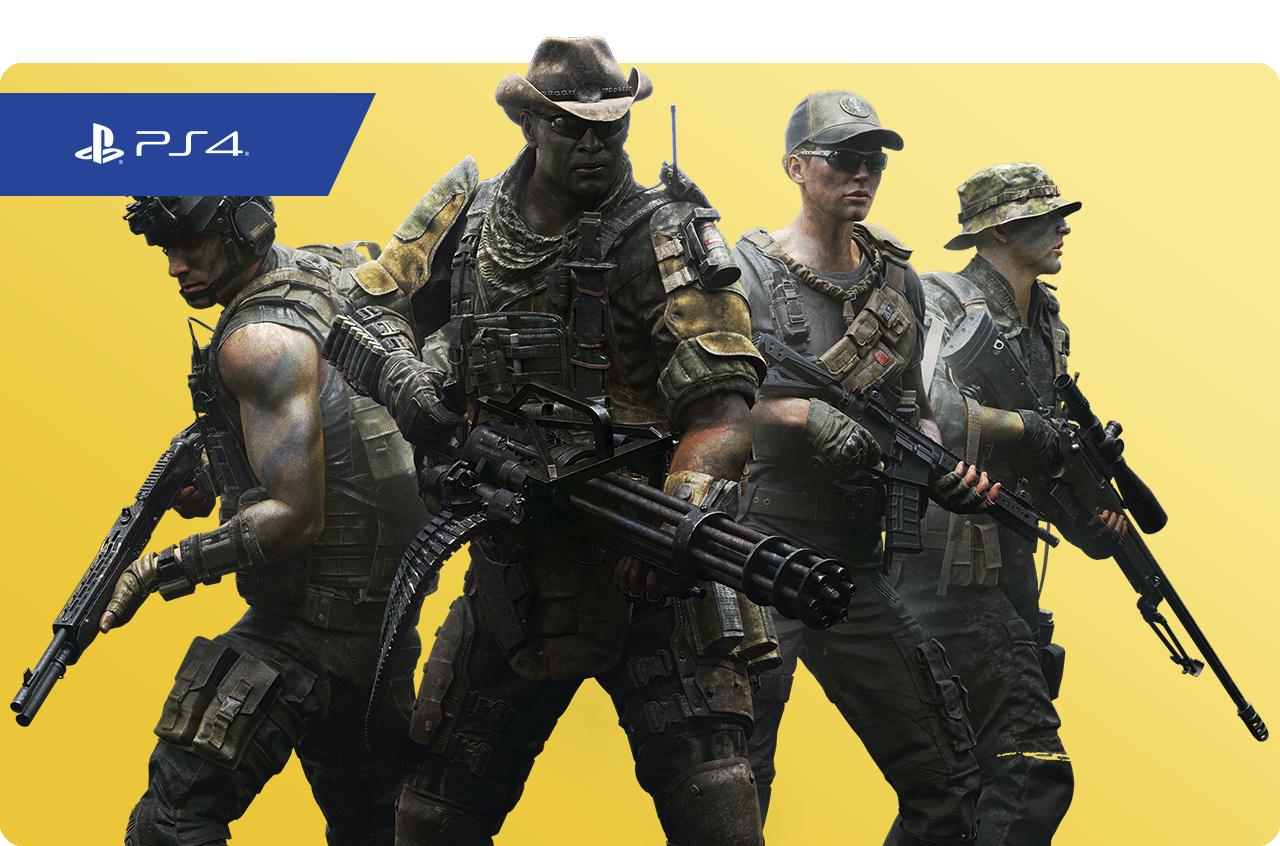 Predator: Hunting Grounds: imagen promocional de PS Plus
