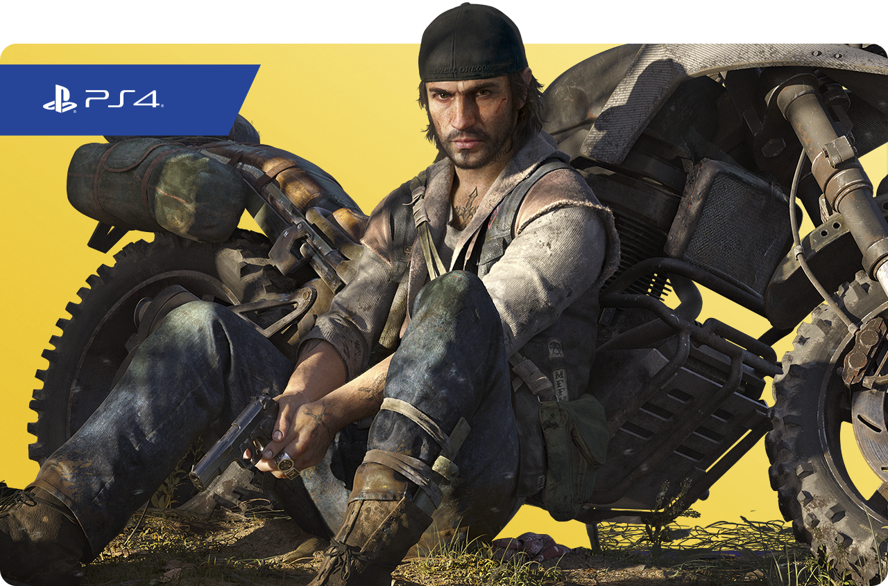 Days Gone - PS Plus promotional image