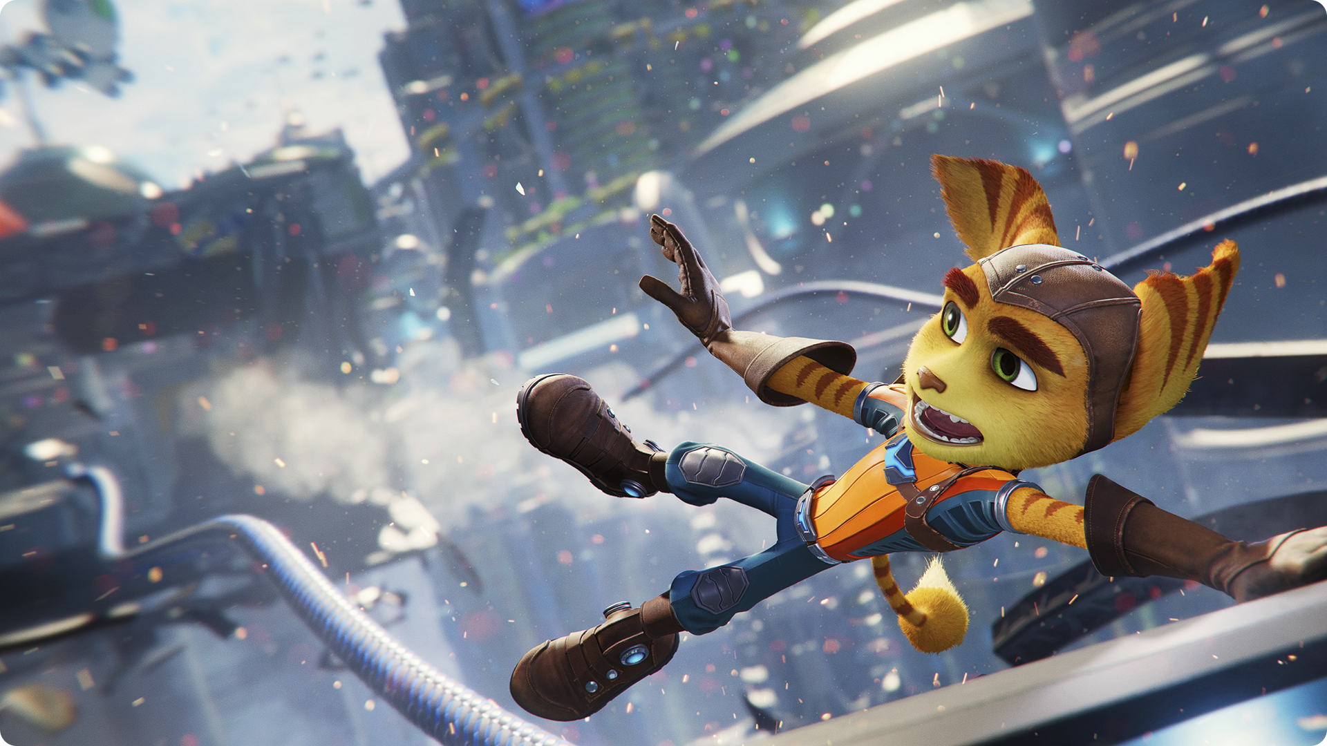 Ratchet and Clank post-game guide promotional art