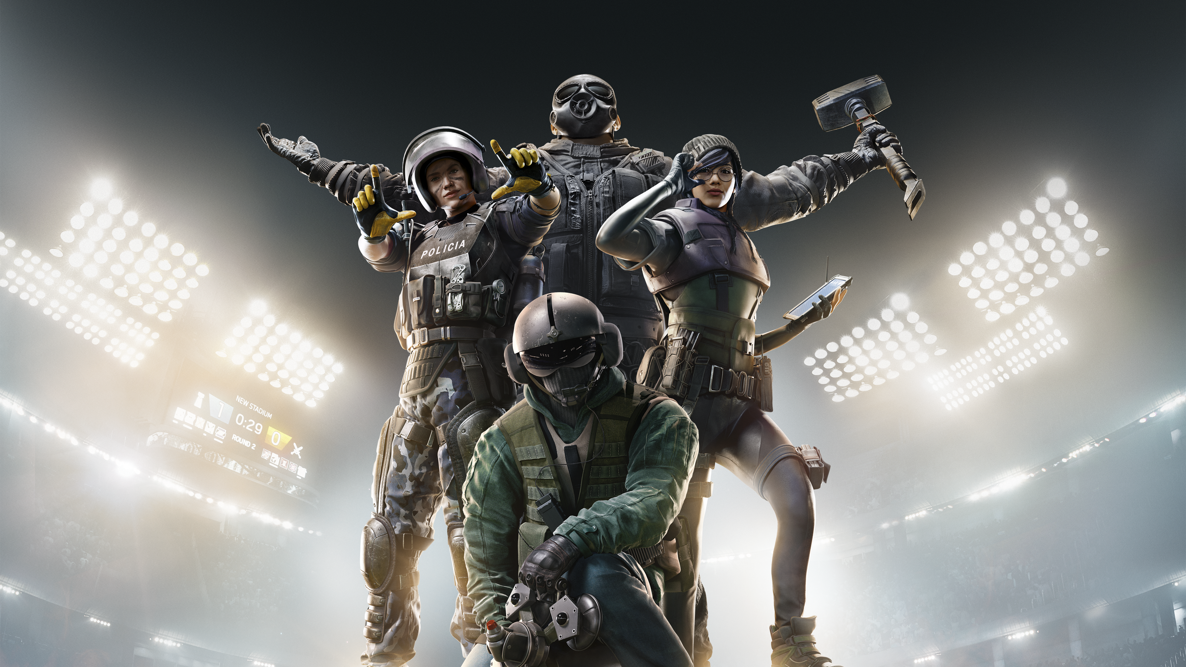 Tom Clancy's Rainbow Six Siege - Tilbage-tast Art
