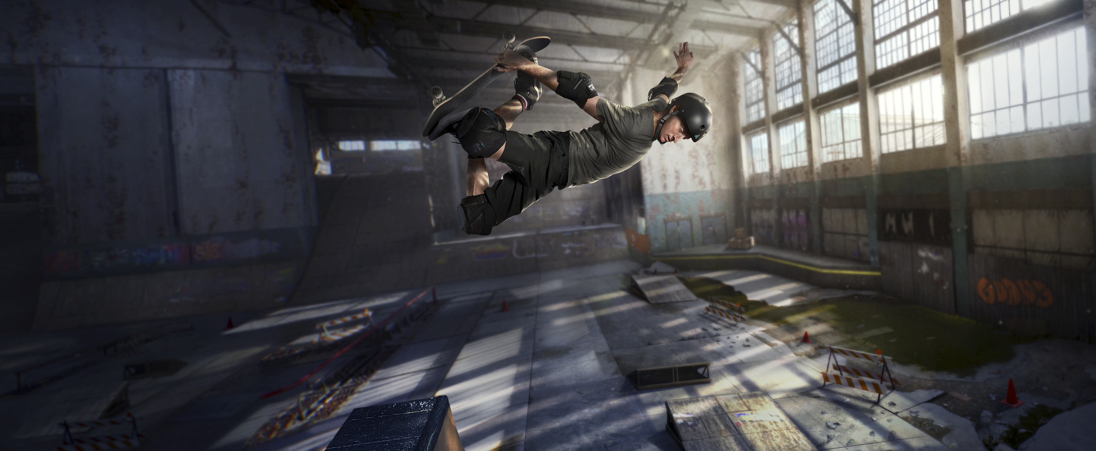 Tony Hawk's Pro Skater 1 + 2 - Key Art
