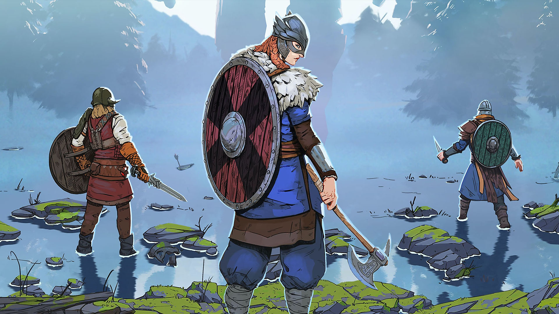 Tribes of Midgard - Screenshot di presentazione