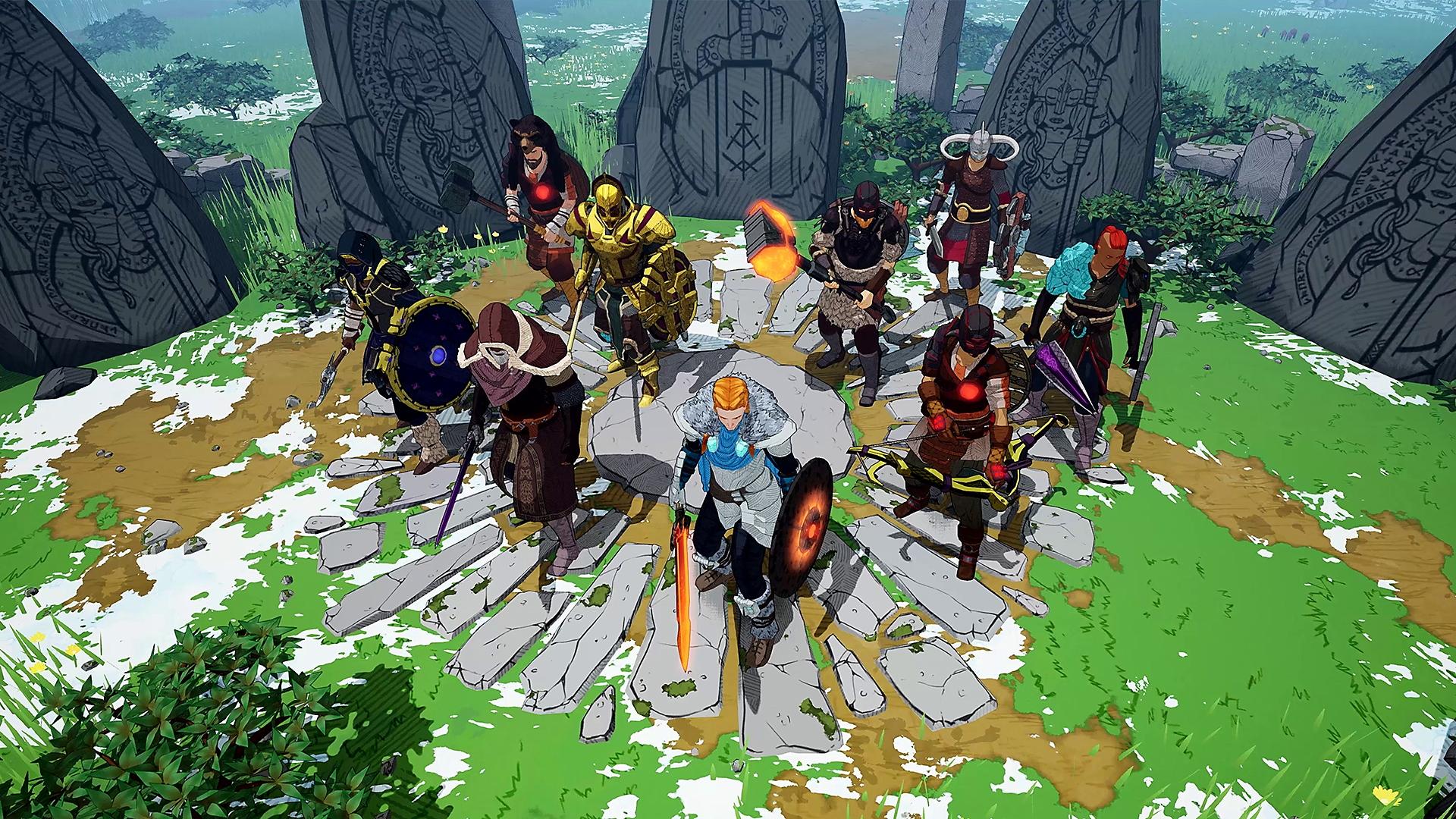 لقطة شاشة Tribes of Midgard