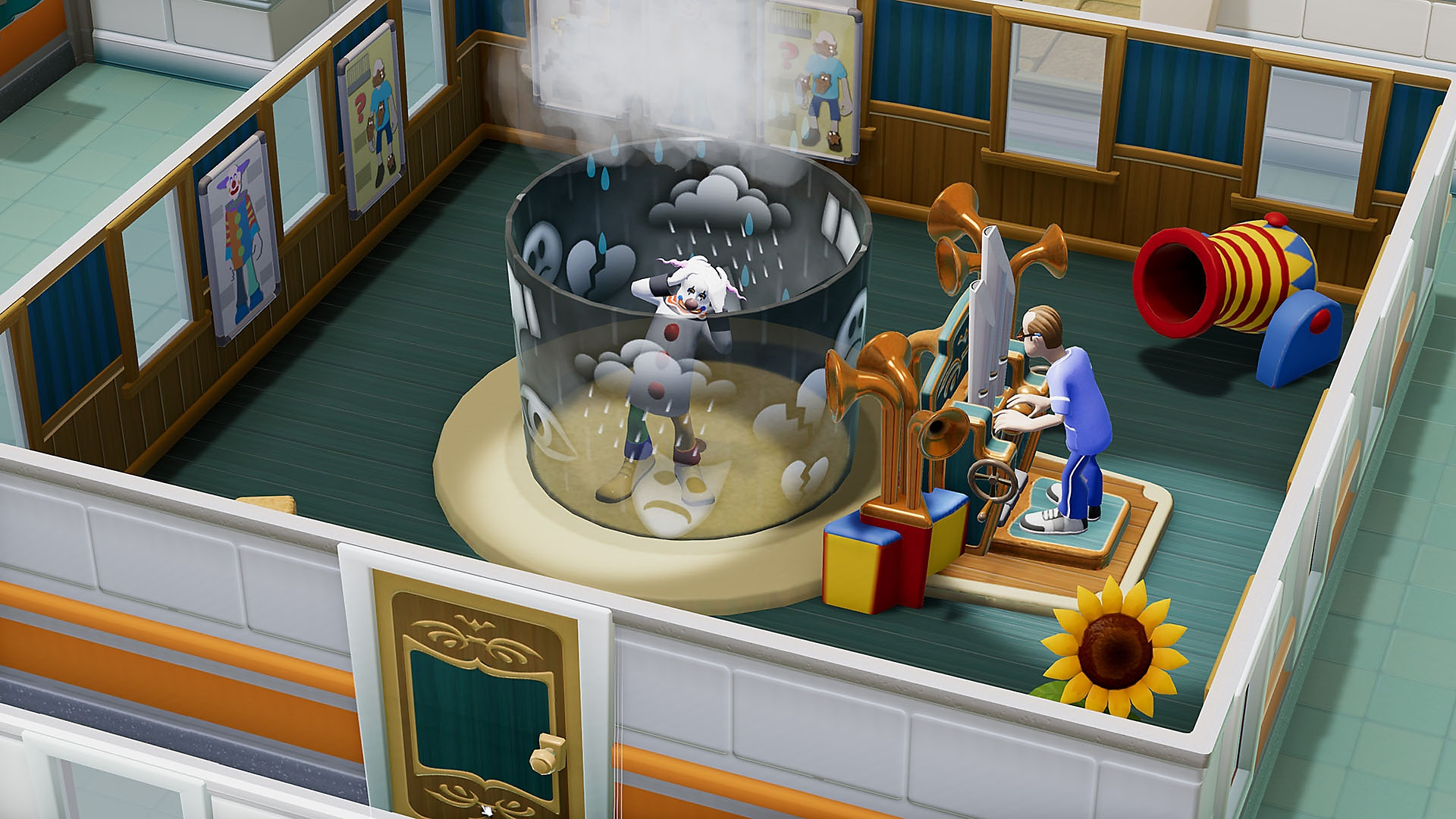 Two Point Hospital - screenshot