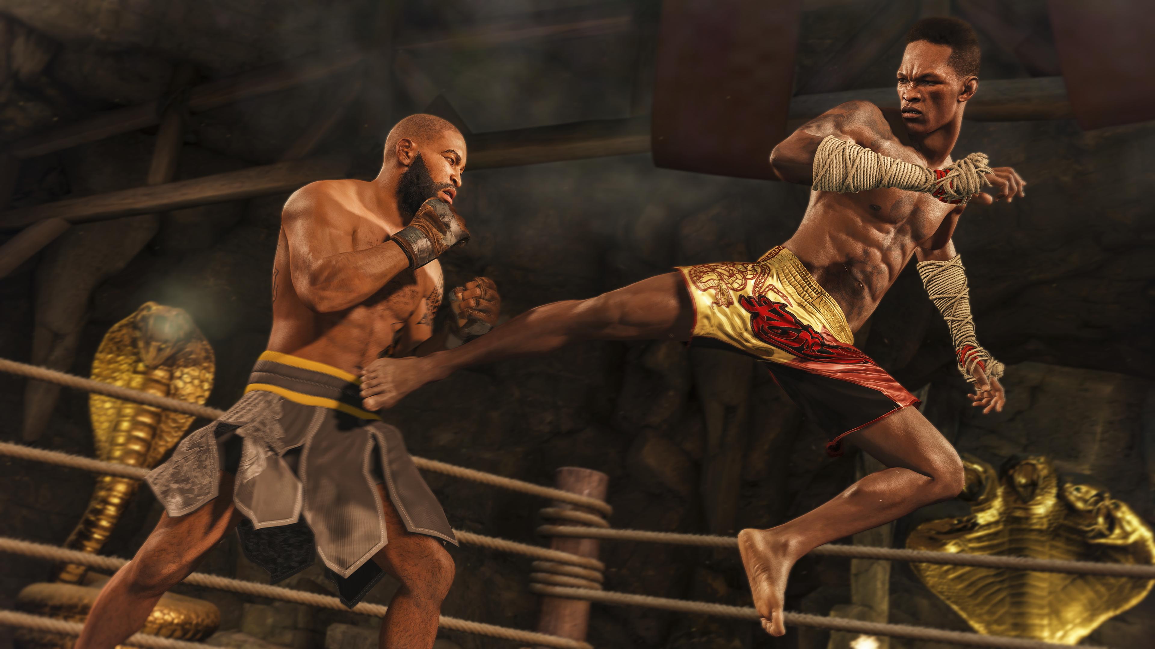 Juego de UFC 4