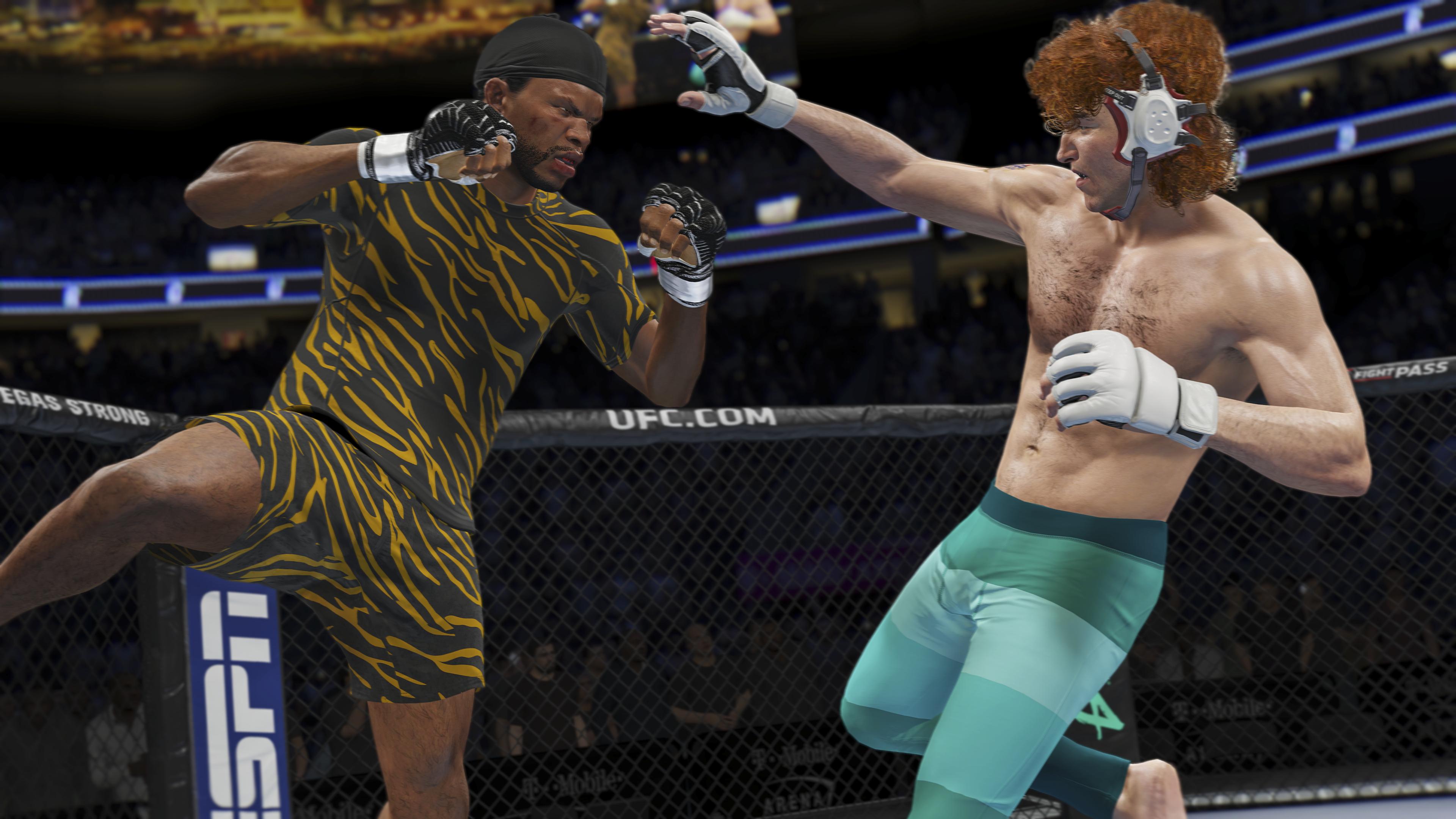 UFC 4 геймплей