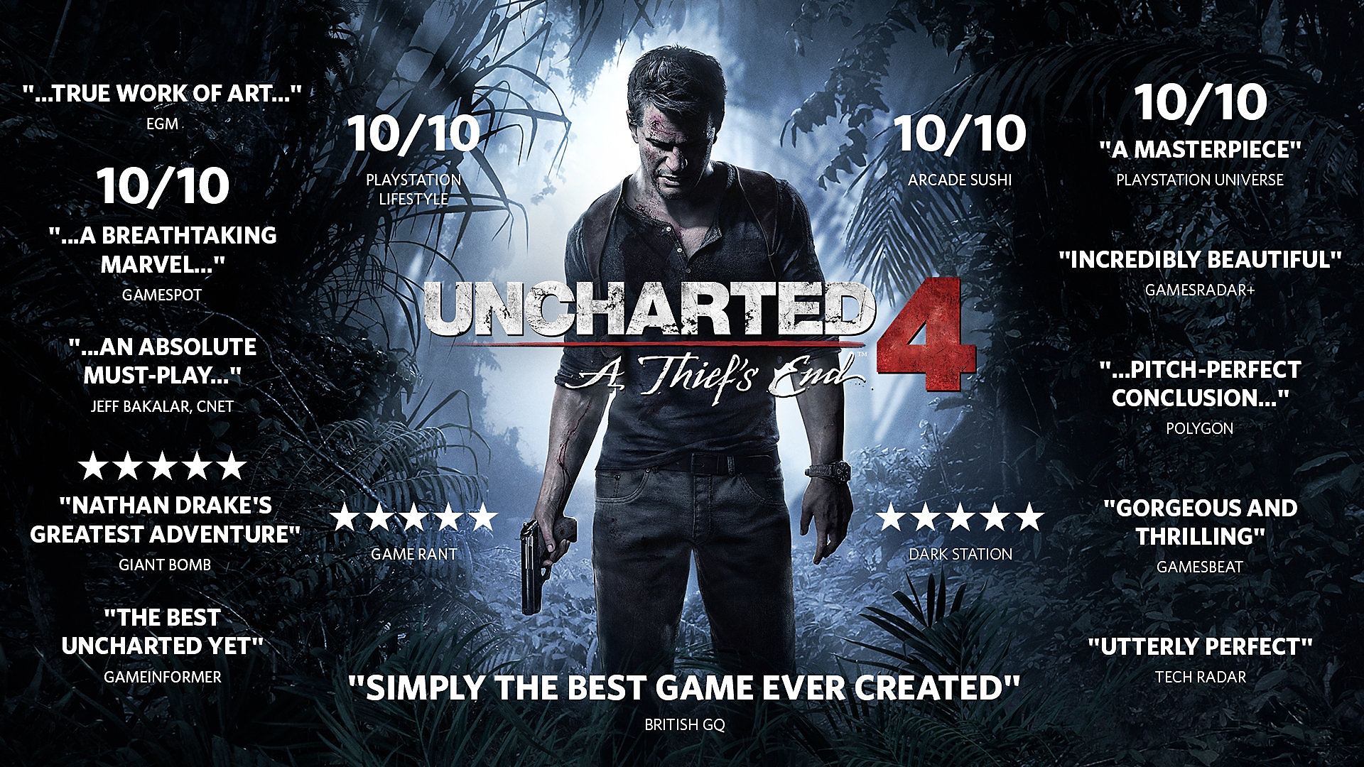 uncharted a thief's end accolades