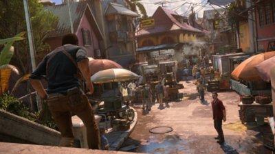 Captura de pantalla de lugar de Uncharted 4