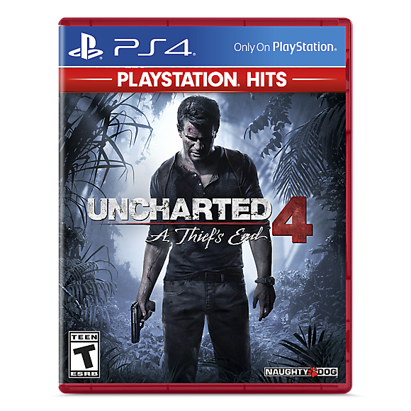 uncharted 4 a thief's end blu ray