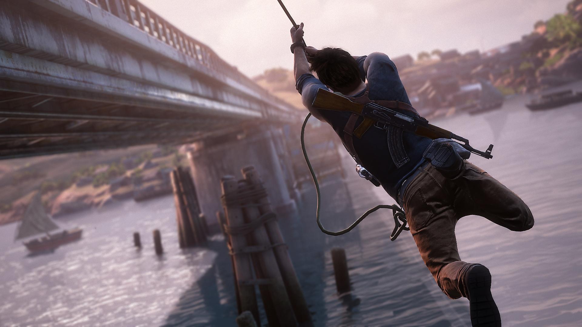 captura de pantalla de Uncharted