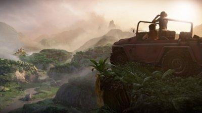 captura de pantalla de lugar de uncharted el legado perdido