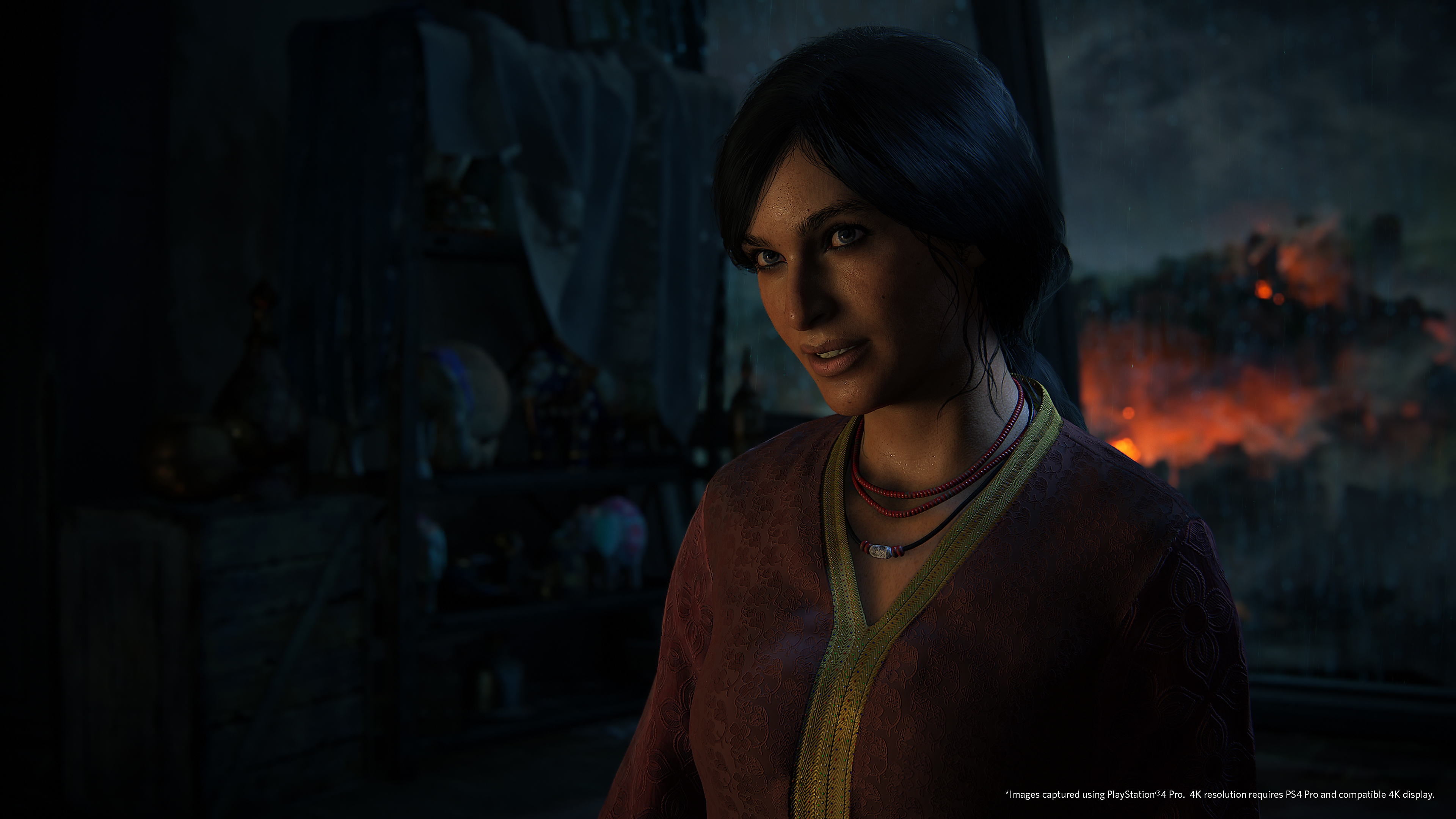 captura de pantalla de uncharted the lost legacy