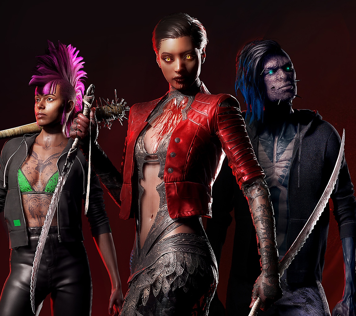 Vampire the Masquerade - Bloodhunt characters