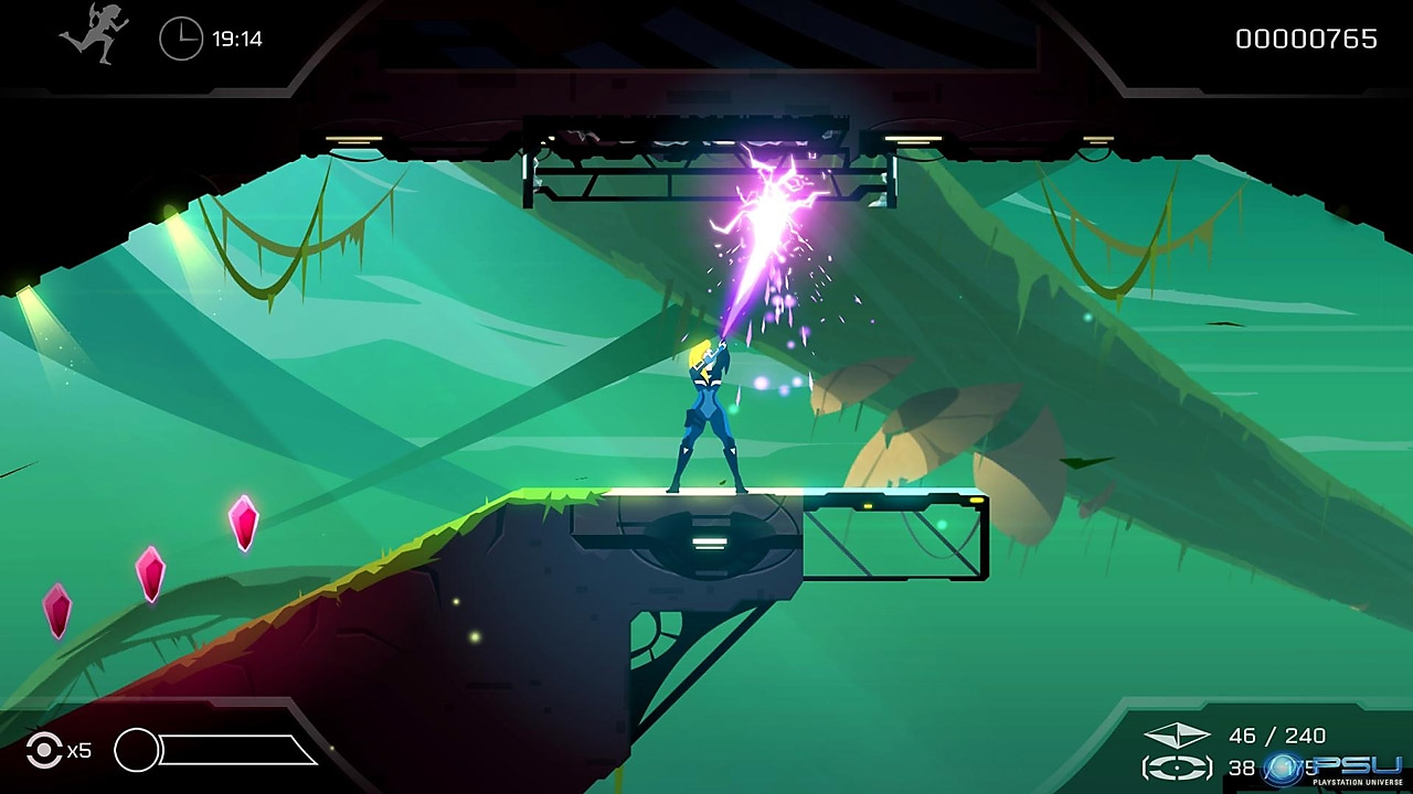 Velocity 2X Alpha Gameplay Teaser | PS4 & PS Vita
