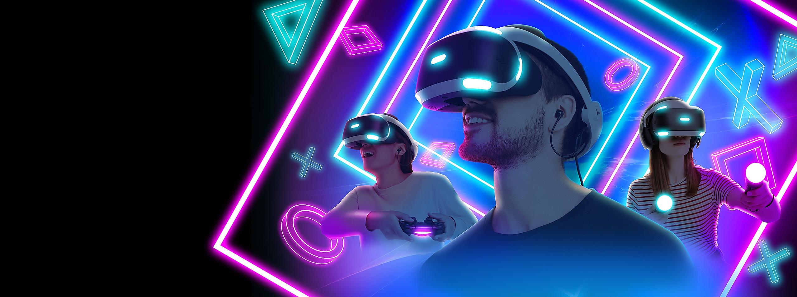 PlayStation VR Games - Spotlight Key Art