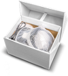 ανοικτό κουτί vr με σετ κεφαλής εικονικής πραγματικότητας