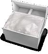 κουτί vr box με προσεκτικά τυλιγμένο το vr και επιπλέον υλικά συσκευασίας