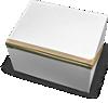 κουτί vr σφραγισμένο με αυτοκόλλητη ταινία στα πλάγια