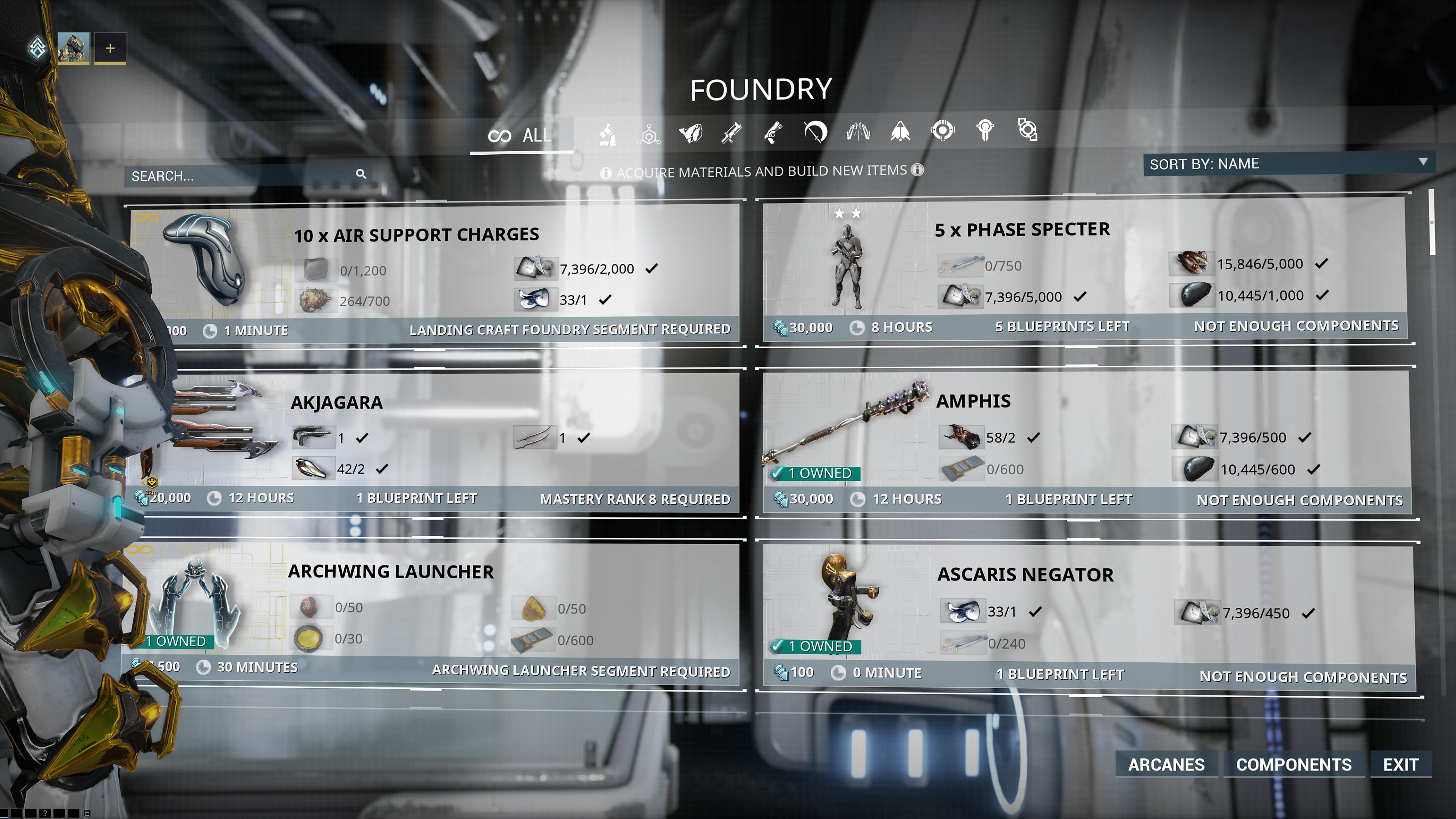 Captura de pantalla de Warframe para PS5