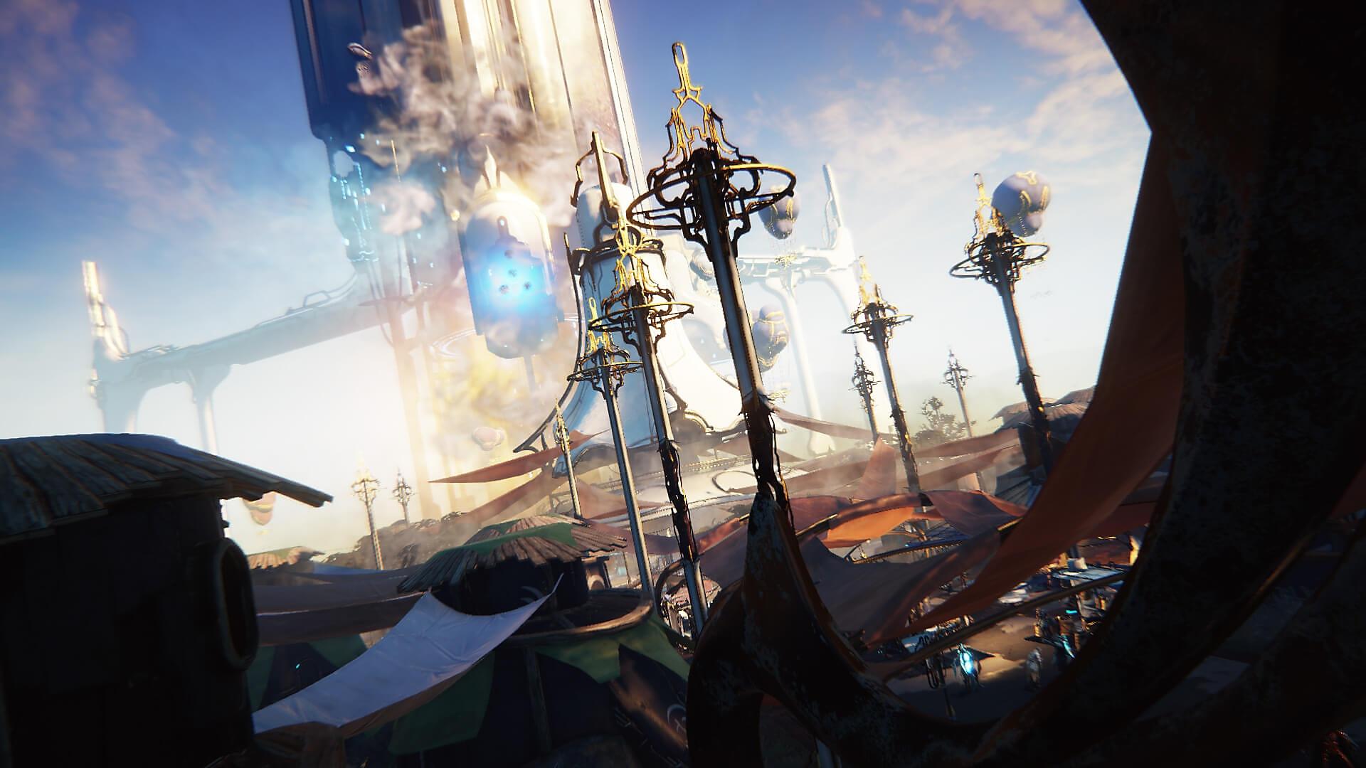 Captura de pantalla de Warframe