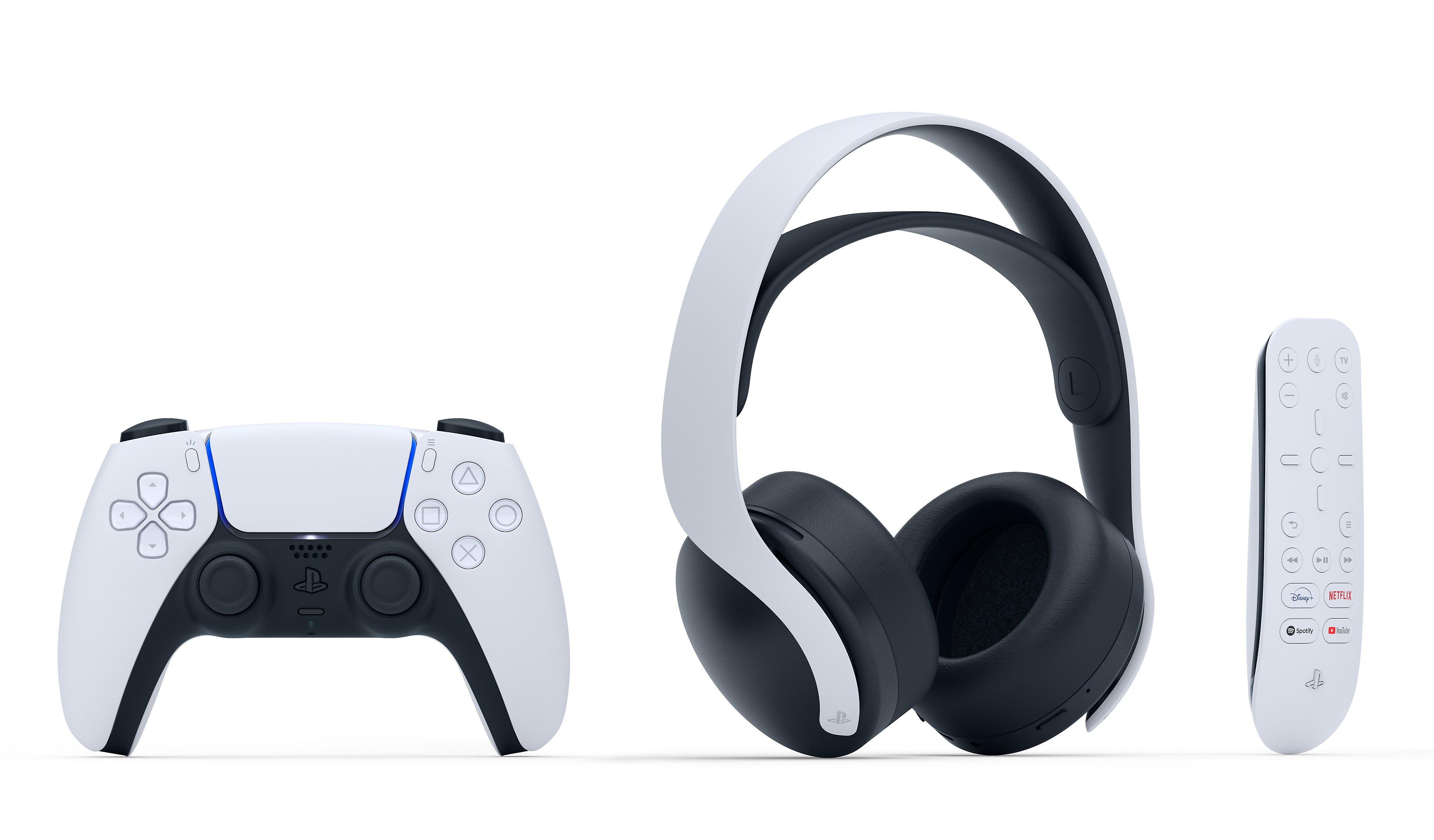 DualSense™ 무선 컨트롤러 + PS5™ 미디어 리모콘