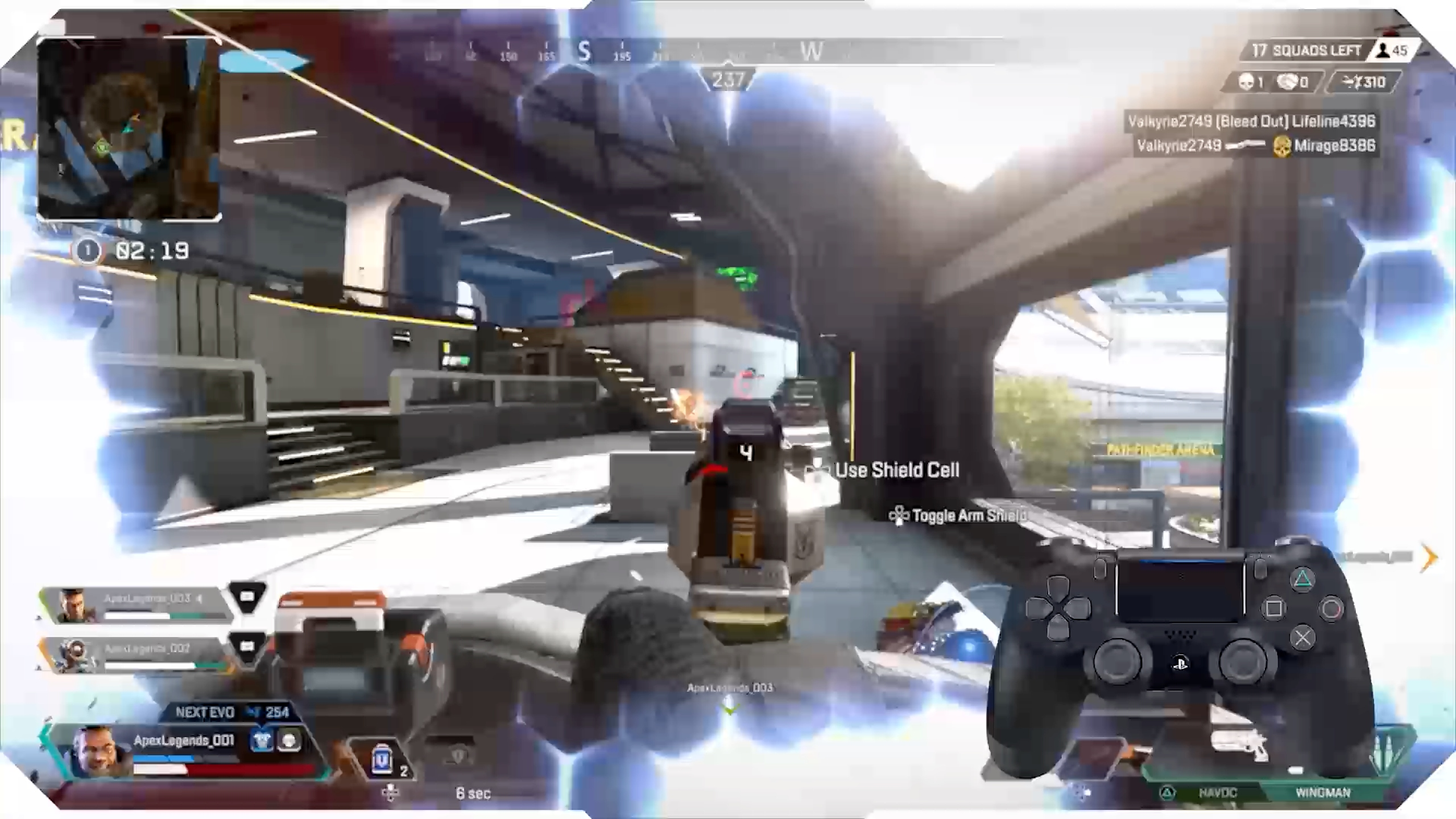 Weapon swap over reload video