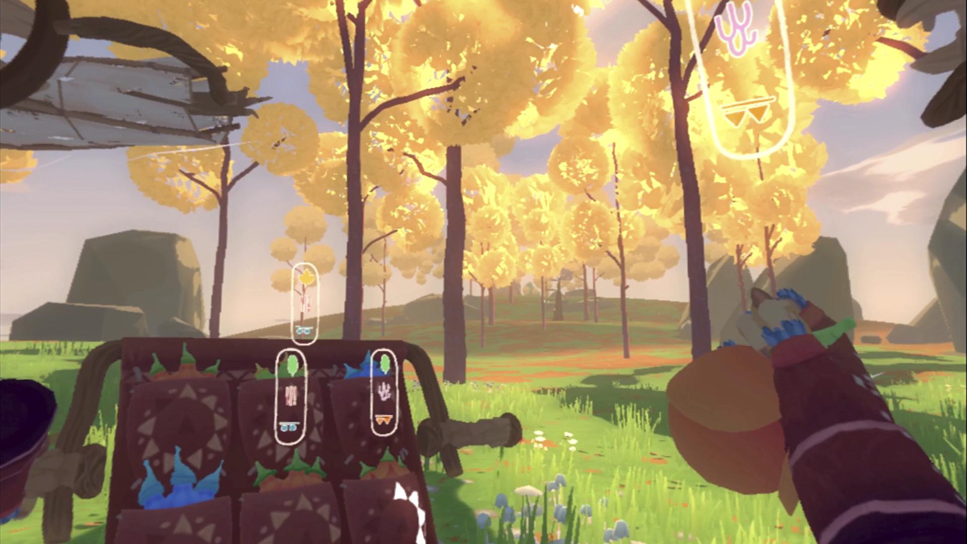 Winds and Leaves – зняток екрану