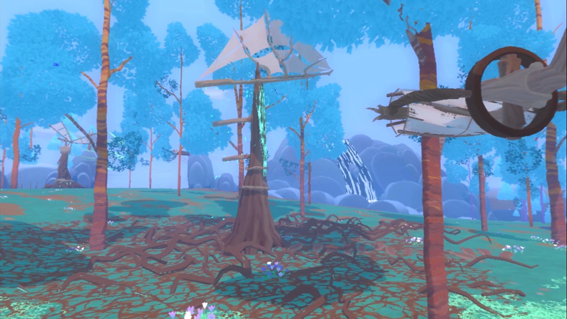 Winds and Leaves screenshot