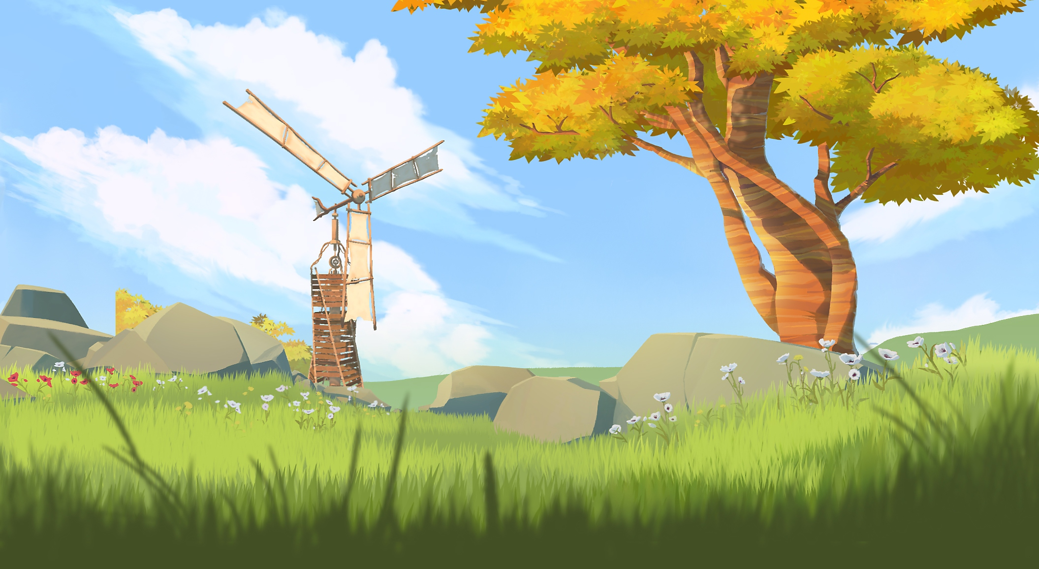 Winds and Leaves screenshot