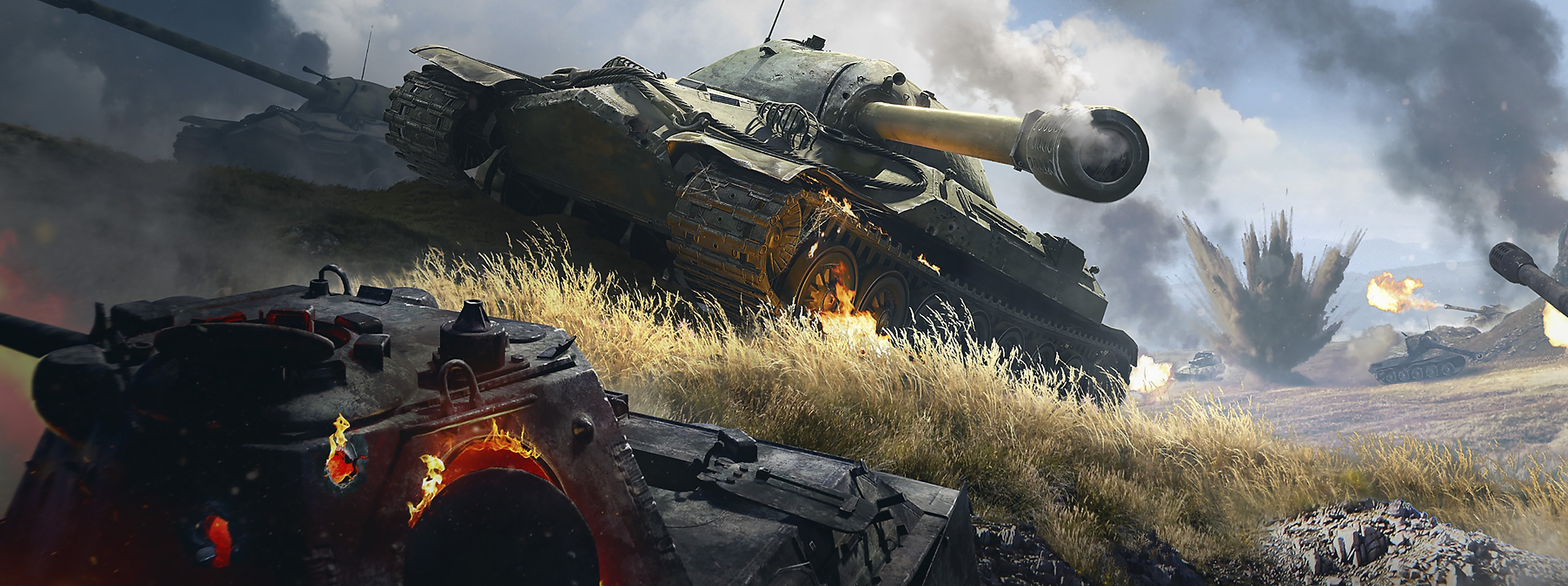 World of Tanks key art