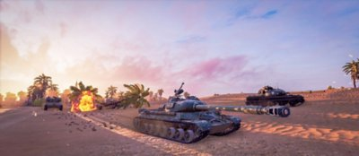 Captura de pantalla de World of Tanks