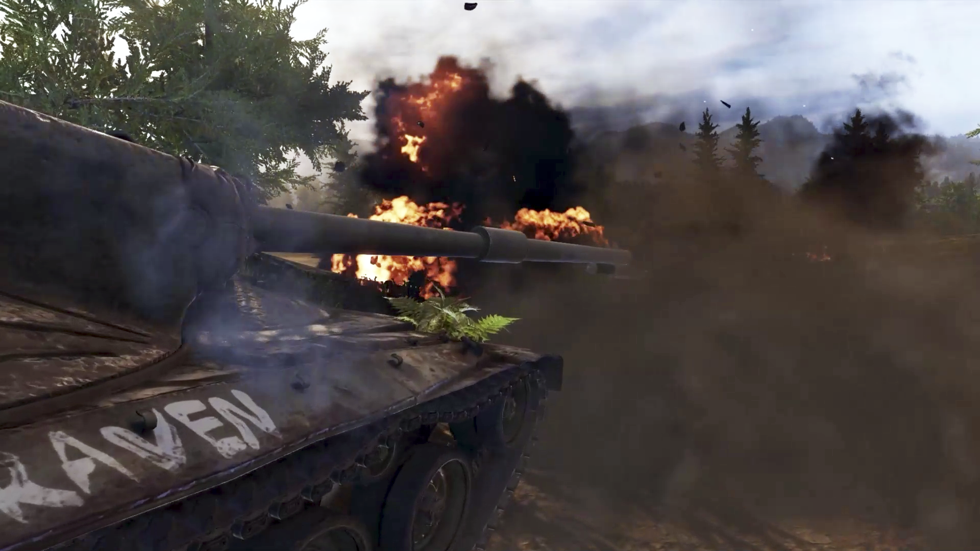 World of Tanks, snimka zaslona