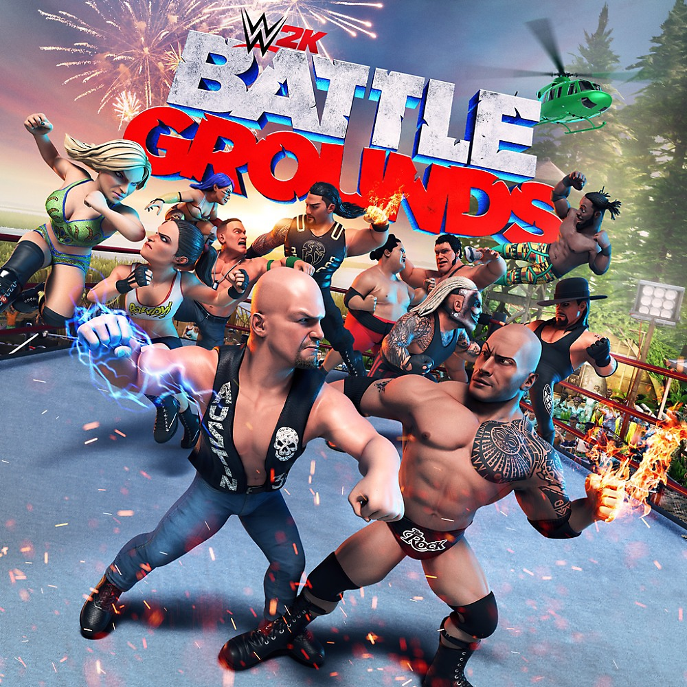 Forudbestil WWE 2K Battlegrounds – Store Art
