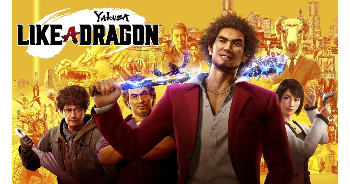 Yakuza Like A Dragon Games Playstation