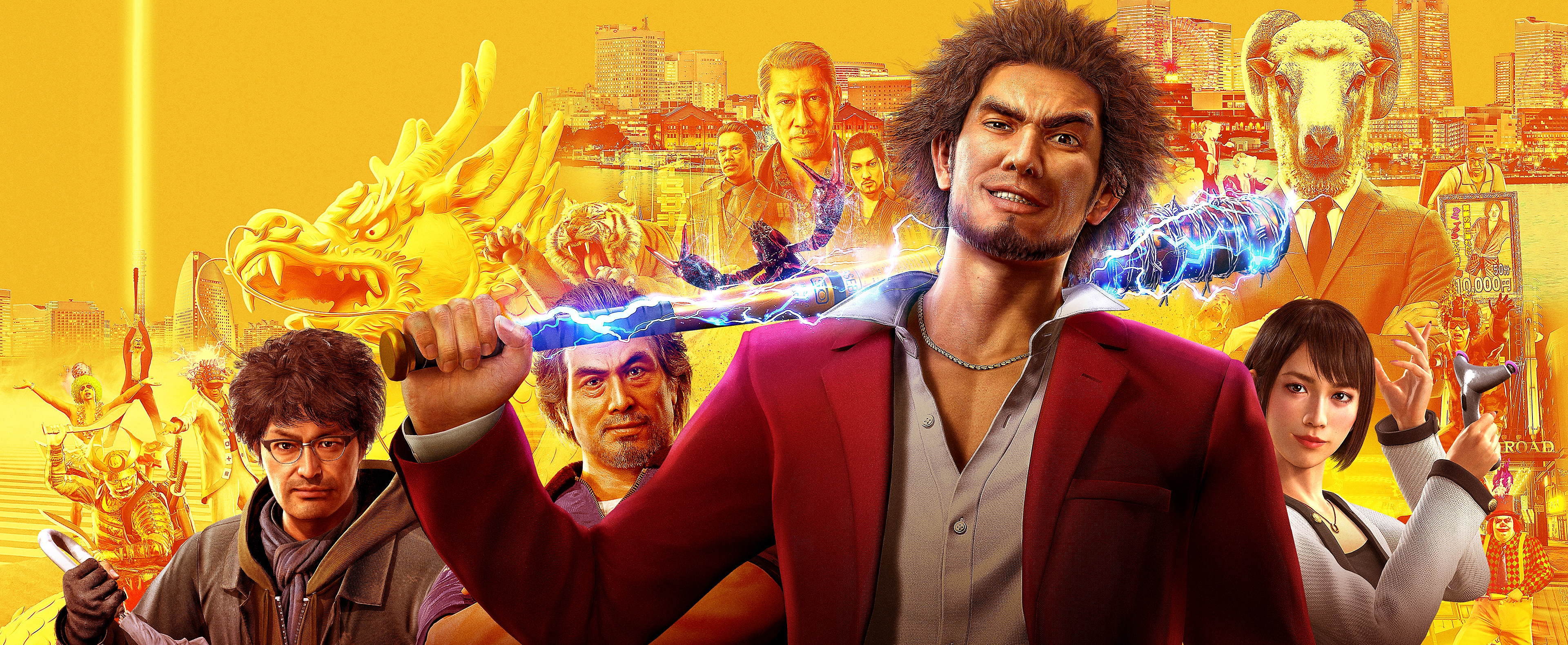Yakuza: Like a Dragon - Key Art