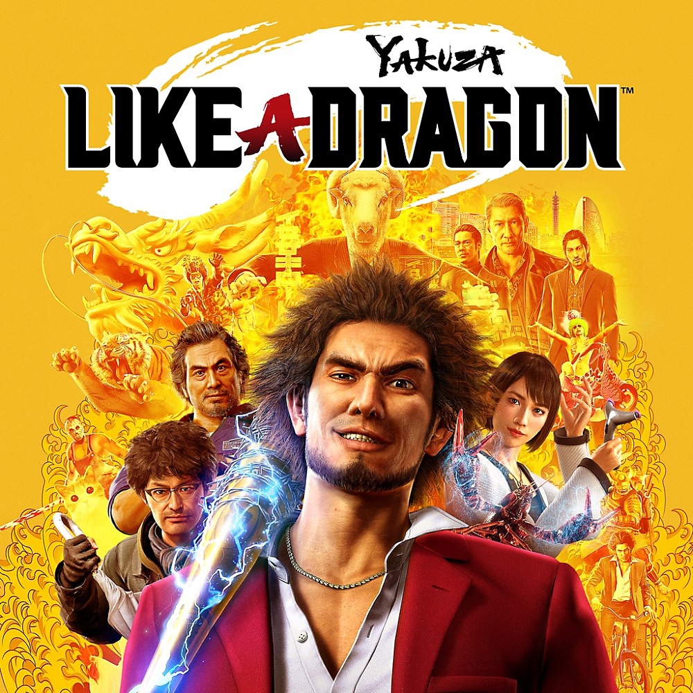 Yakuza: Like a Dragon – butiksomslag