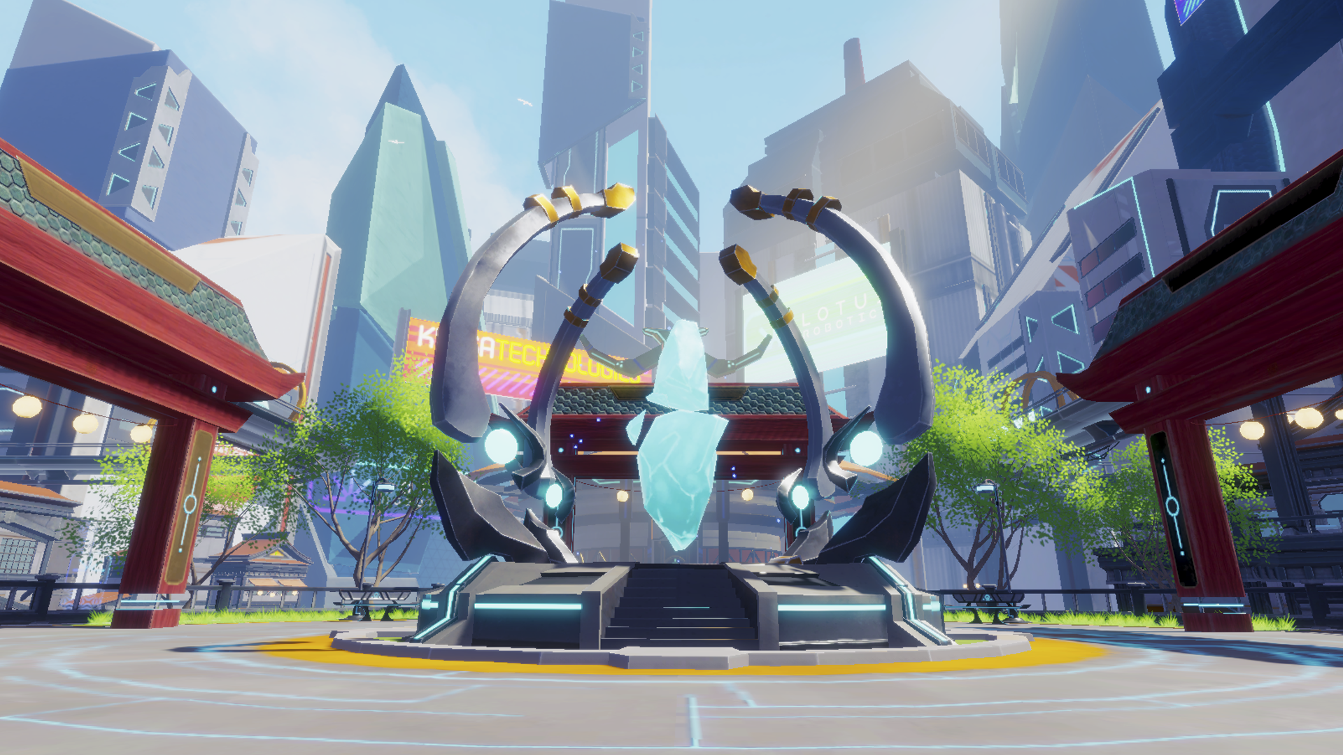 Gameplay screenshot for Zenith on PS VR