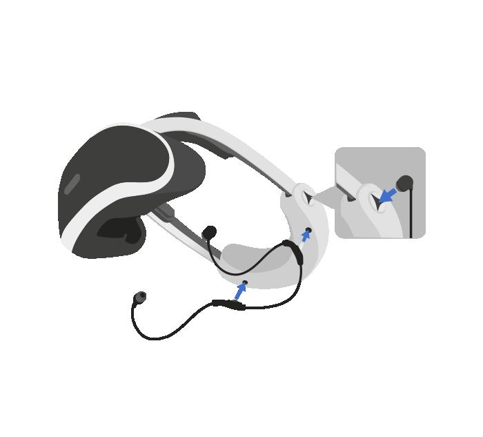 Ya puedes conectar los auriculares estéreo al casco de PlayStationVR.